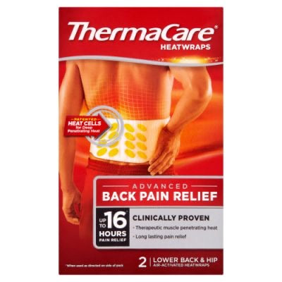 ThermaCare Back Pain Heat Wrap 2 count