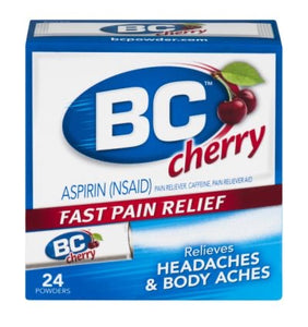 BC Cherry Powders 24 count