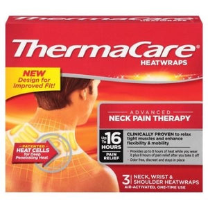ThermaCare Neck Pain Heat Wrap 3 count