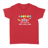 Easter 2021 The Year Of The Vaccine - Easter's Day Women's T-shirt