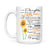 Sunflower Mom To My Daughter Mug Never Forget That I Love You