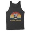 Foreign Cat Best Cat Dad Ever - To Dad Tank