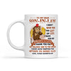 Monkey Father-In-Law To Son-In-Law I Didn't Give You The Gift Of Life I Gave You My Gorgeous Daughter- Mug