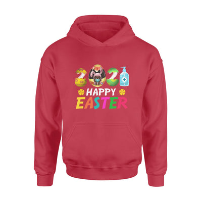 Black Woman with egg - Easter's Day Hoodie