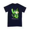 Shamrock Patrick's Day T-shirt - Patrick's Day Love Gnome Teacher Life