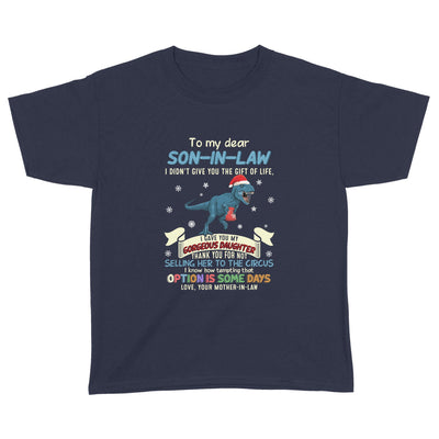 I gave you my daughter T-rex - To Son-in-law - Standard Youth T-shirt