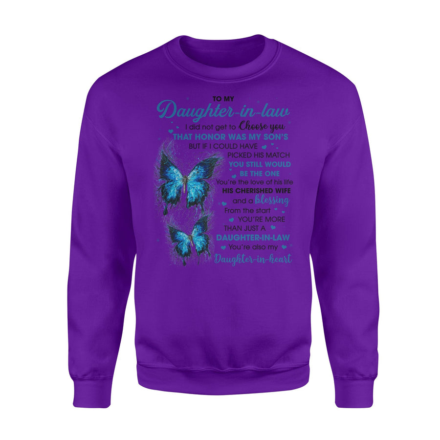 You Still Would Be The One-To Daughter-In-law Crew Neck Sweatshirt