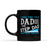 Two Titles Dad and Step Dad and I rock them both - Black Mug