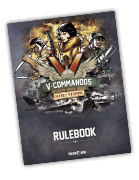 V-Commandos: Secret Weapons rulebook 2nd Print