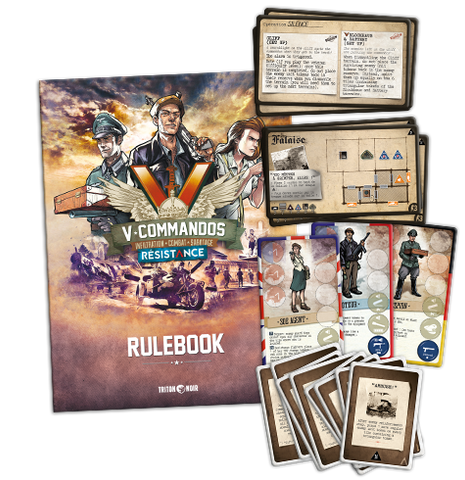 V-Commandos: Resistance English Errata Pack - CA