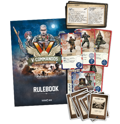 V-Commandos English Errata Pack - CA