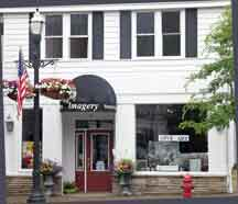 Imagery store front on Main St., Chagrin Falls, Ohio