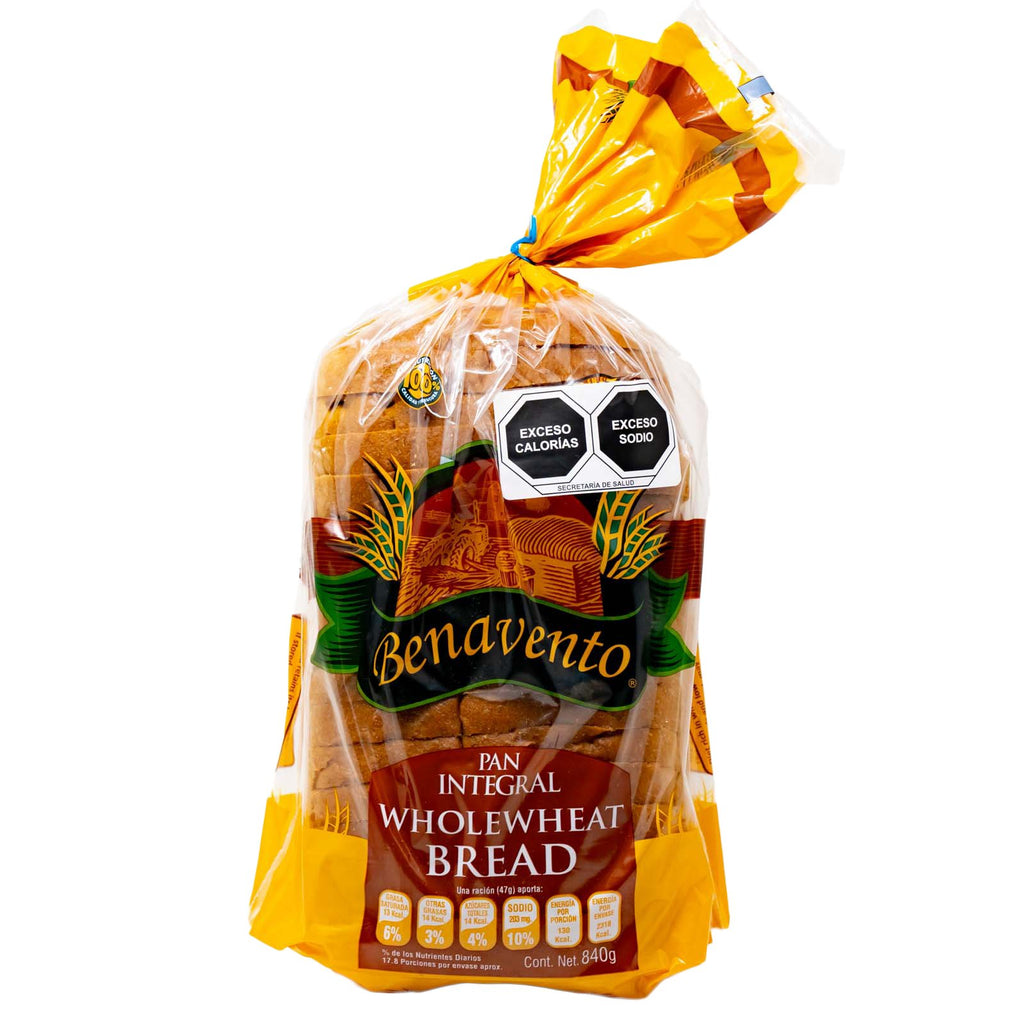 Benavento Bread Wholewheat Trans Fat Free 840 g.
