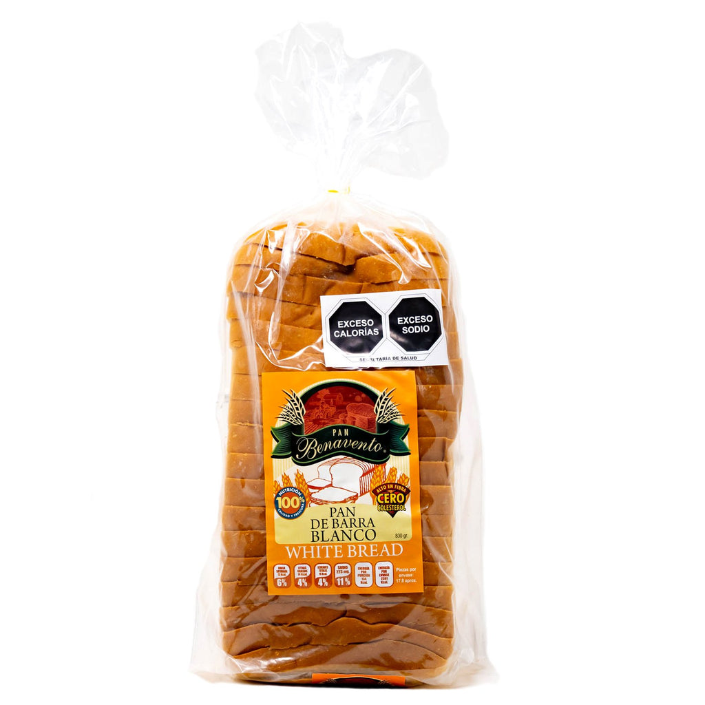 Benavento Bread White Trans Fat Free 830 g.