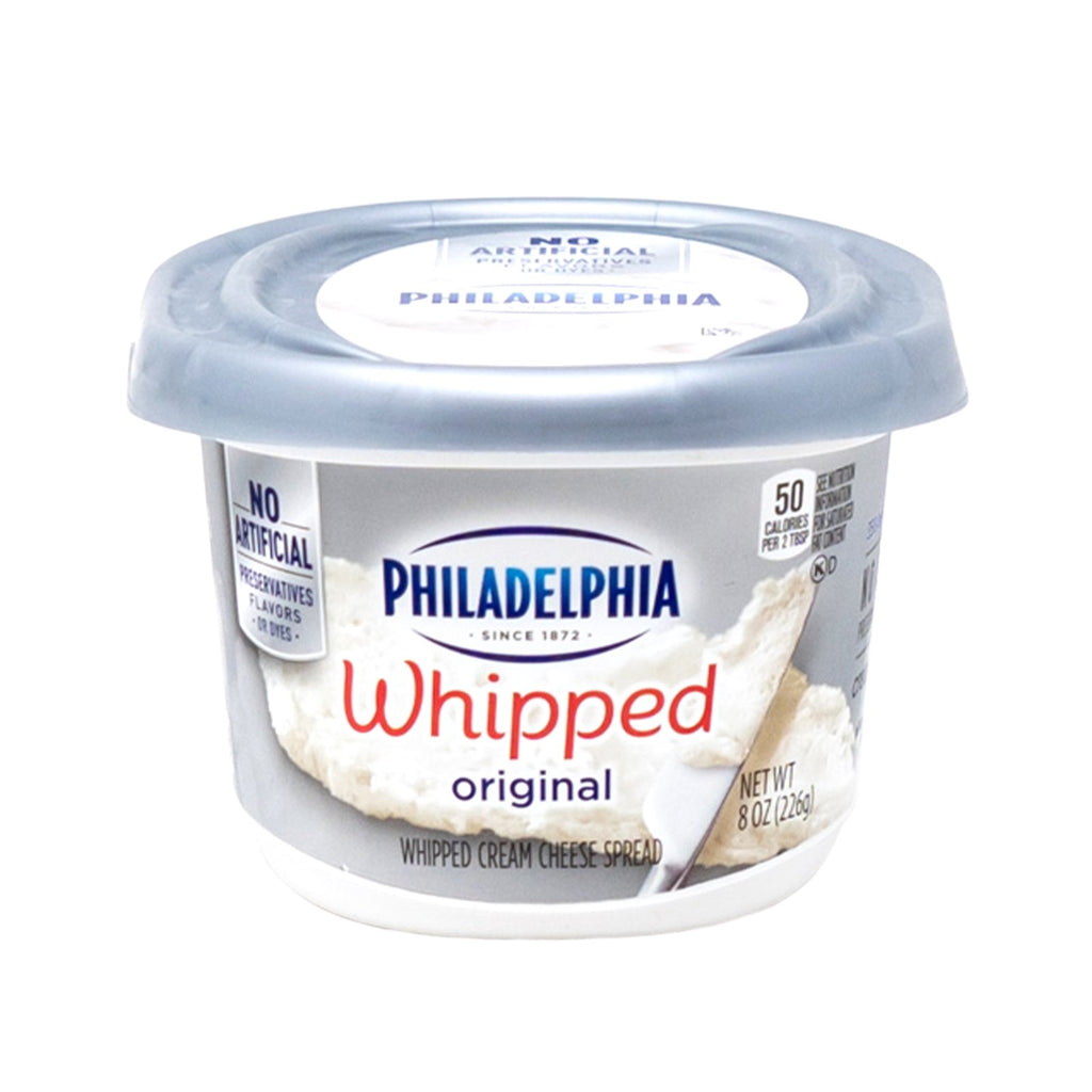 Philadelphia Cream Cheese Whipped Original Spread 8 oz