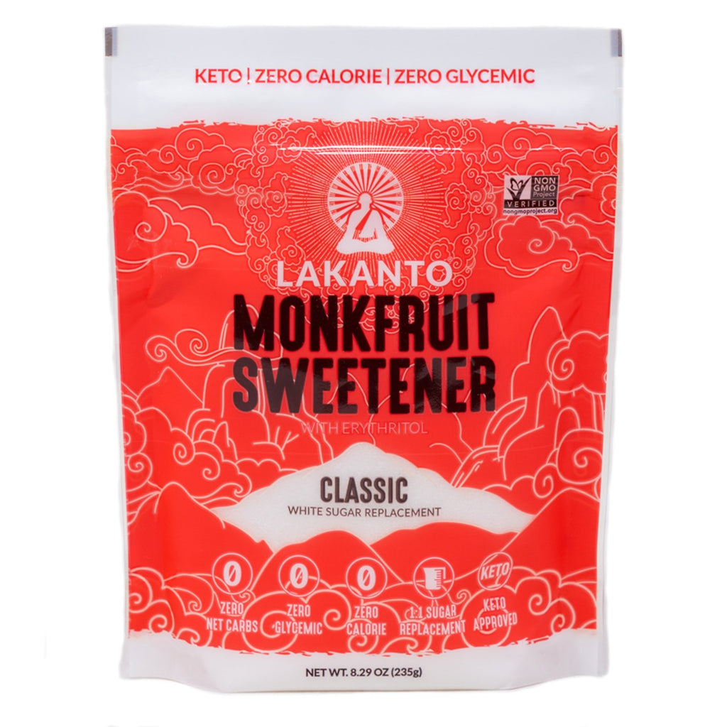 Lakanto Sweetener Monkfruit Classic No Sugar 8.29 oz