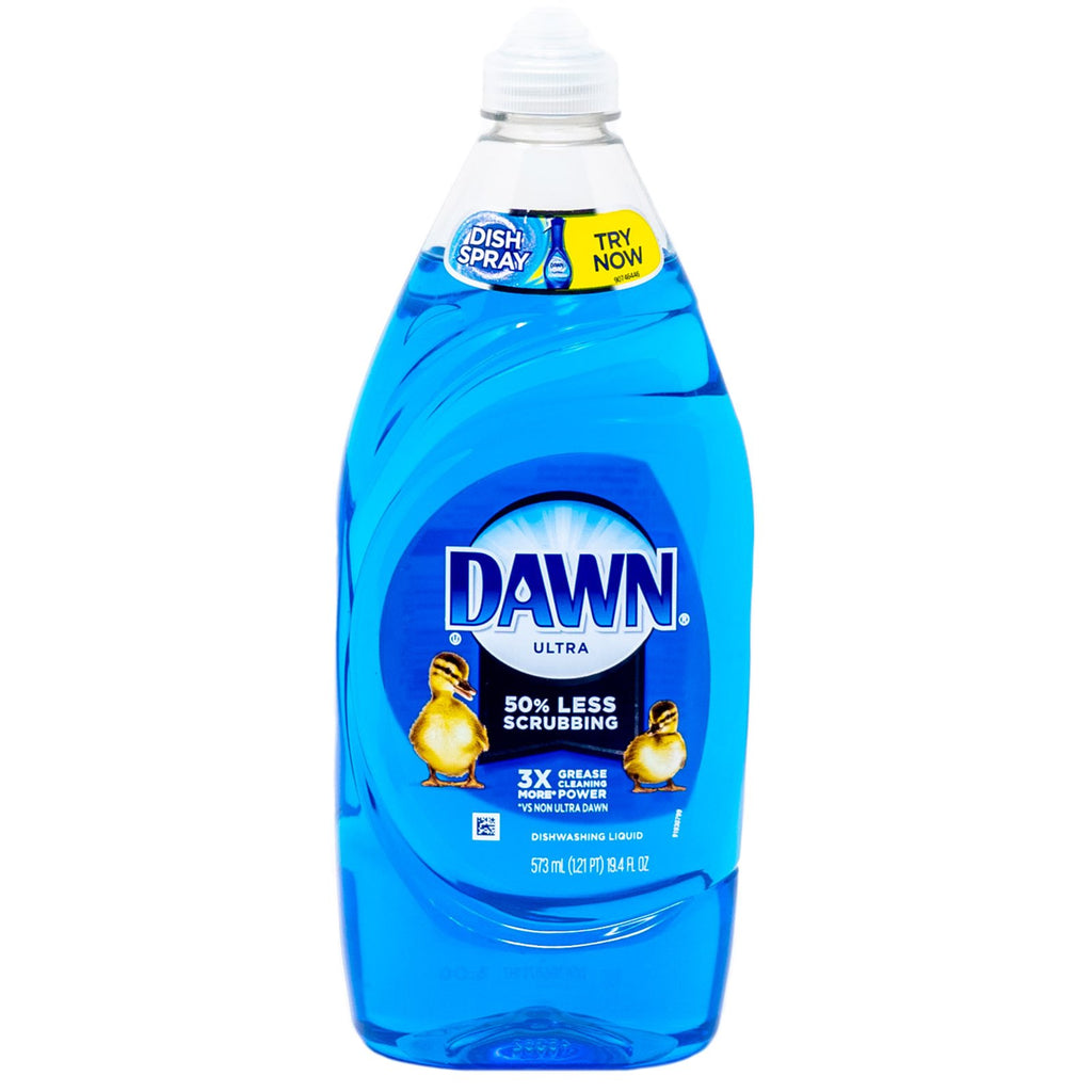 Dawn Dishwasing Liquid 50% Less Scrubbing Original 19.4 oz