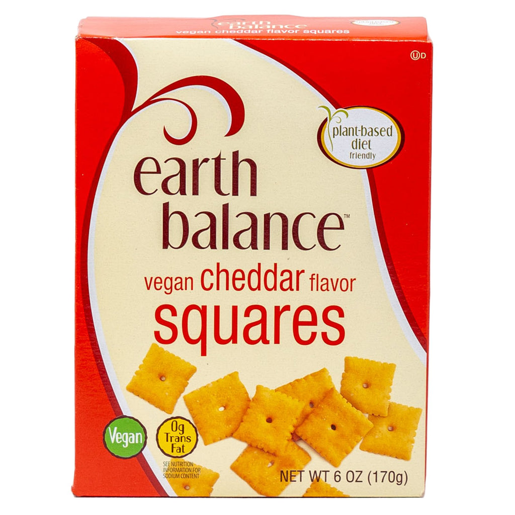 Earth Balance Crackers Cheddar Vegan 6 oz