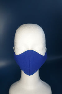 Royal Blue Face Mask