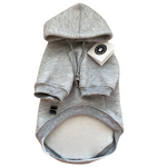 Grey Ultra Soft Dog Hoodie