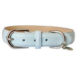 Harbour Blue Portofino Collection Luxury Leather Dog Collar