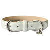 Coastal Grey Portofino Collection Luxury Leather Dog Collar