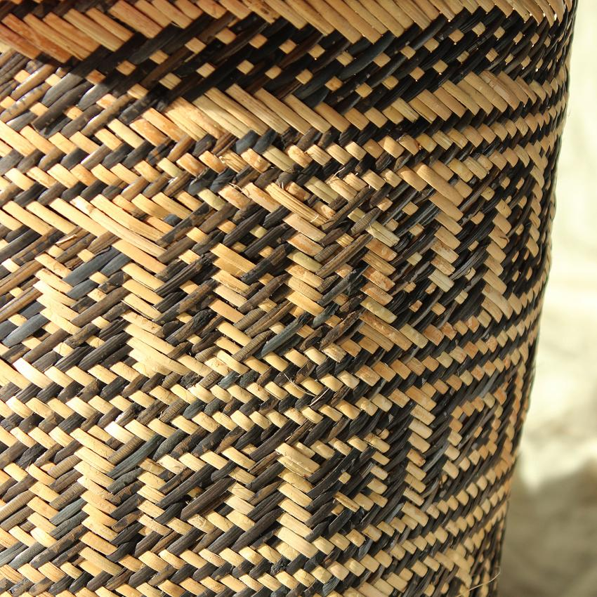 Borneo Tribal Drum Basket