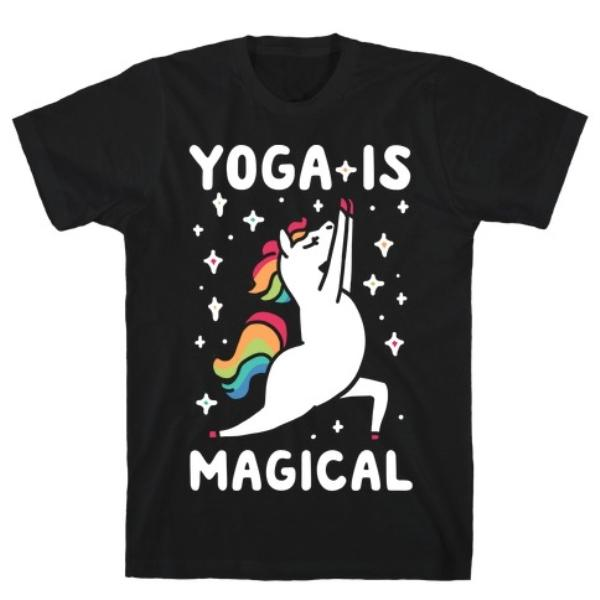 Yoga is Magical T-Shirt