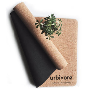 Urbivore natural cork yoga mat