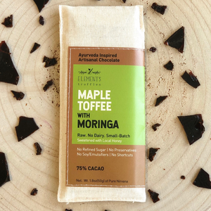Maple Toffee with Moringa Chocolate Bar - Pack of 3