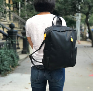 Lenox Vegan Backpack - Black