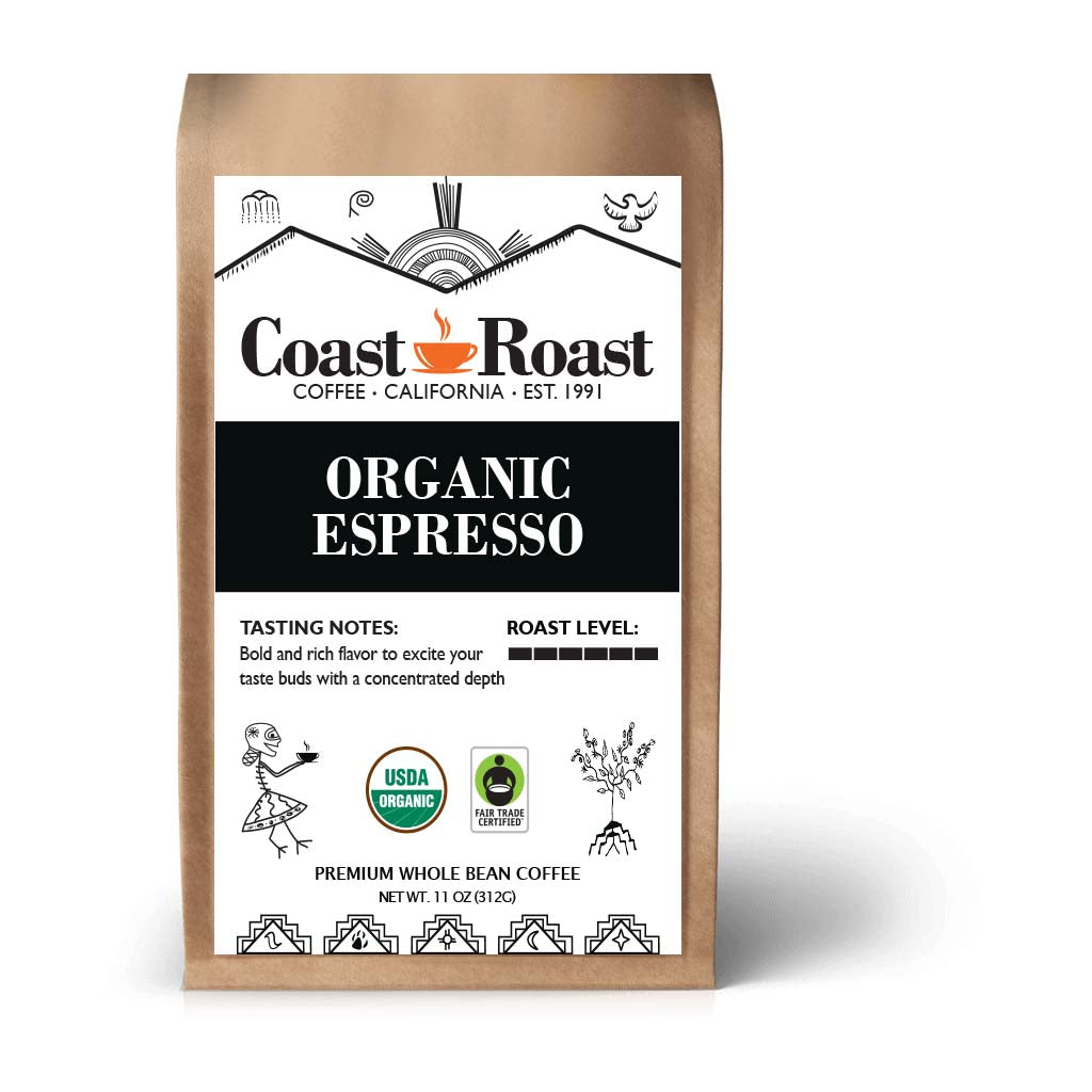 Espresso Whole Bean Organic Coffee
