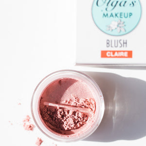 Organic & Mineral Loose Blushes - Claire