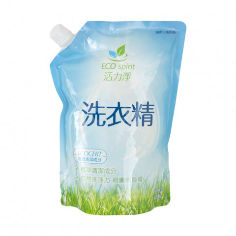 活力净New洗衣精补充包 - Concentrated Liquid Laundry Detergent (1500ml)