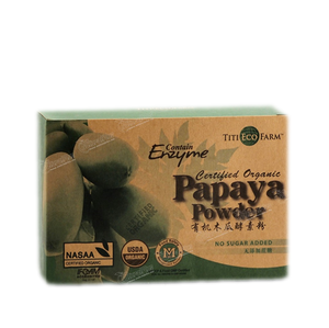 Titi Eco Farm - Green Papaya Powder (Enzyme) 36sachet/BOX