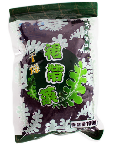 干燥裙带菜 - Organic Dried Wakame (100g)
