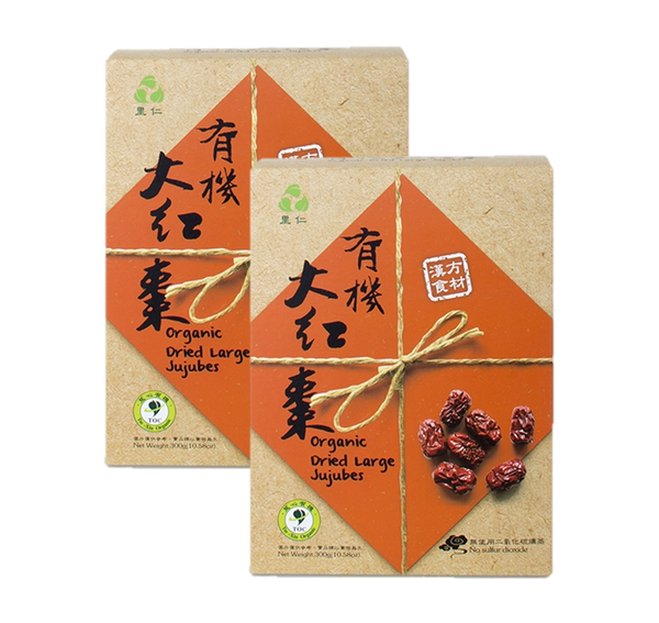 有机大红枣 - Organic Dried Large Jujubes(300g)
