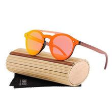 Load image into Gallery viewer, Handmade Bamboo Sunglasses with Polarised Lenses x Lonsy - Mevenus