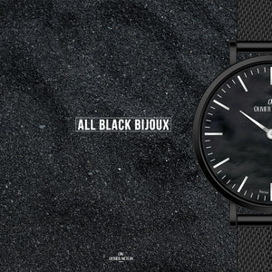 All Black Bijoux 32mm