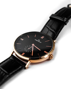 The Richemont Rose Gold / Black 40mm