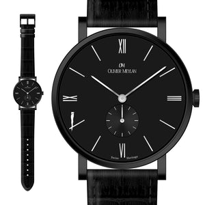 The Richemont Black 40mm