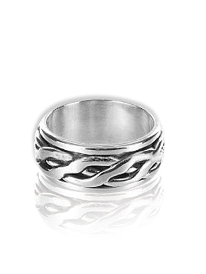SPINNER | Celtic | Silver