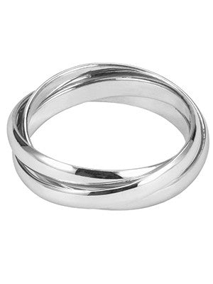 Infinity silver band
