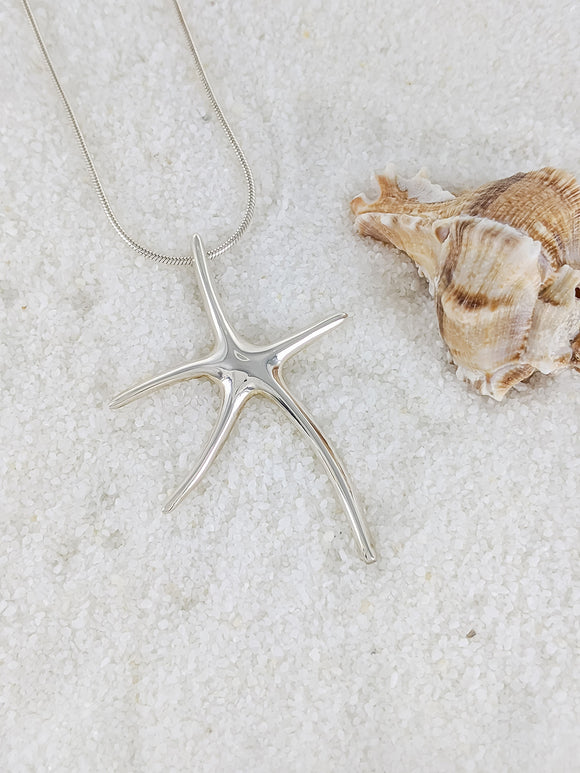Long leg starfish Pendant