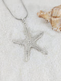 Textured Starfish Pendant