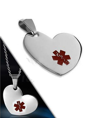 ENGRAVING  | Medical tag | Stainless Steel