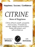 AUTUMN LEAVES | Citrine | Silver