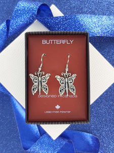 FIRST NATIONS INSPIRED | Butterfly | Pewter