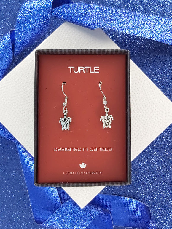 FIRST NATIONS INSPIRED | Turtle | Pewter