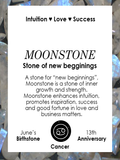 MIDNIGHT | Moonstone | Silver